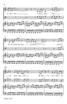 Ellie Goulding: Lights: Mixed Choir