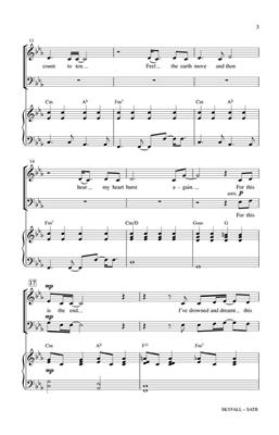 Adele: Skyfall (SATB): Mixed Choir