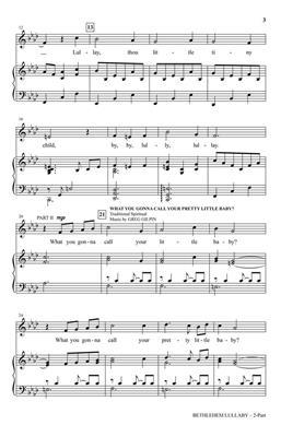 Greg Gilpin: Bethlehem Lullaby: Mixed Choir