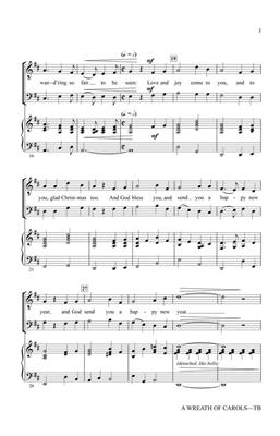 Greg Gilpin: A Wreath of Carols: Men's Choir