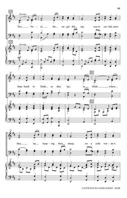 Shawnee Press: Canticles in Candlelight