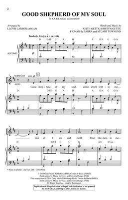 Keith Getty: Good Shepherd of My Soul: Mixed Choir
