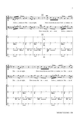 Greg Gilpin: Music's Echo: Men's Choir