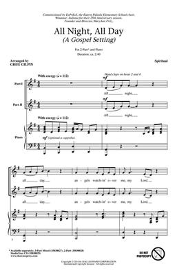 Greg Gilpin: All Night, All Day: Mixed Choir