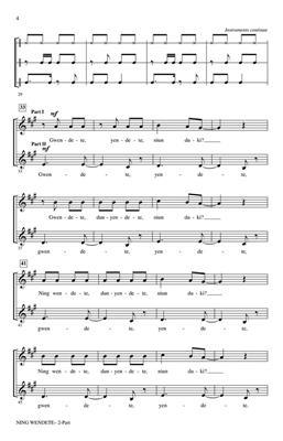 Greg Gilpin: Ning Wendete: Mixed Choir