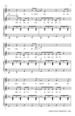 Johnny Marks: A Holly Jolly Christmas: Arr. (Greg Gilpin): 2-Part Choir
