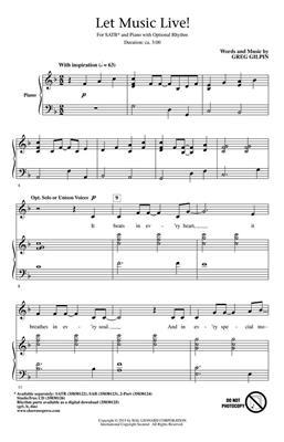 Greg Gilpin: Let Music Live: Mixed Choir