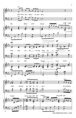 Mel Torme: The Christmas Song: Arr. (Mark Hayes): SATB