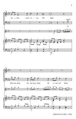 Traditional: A Brazilian Carol: Arr. (Ken Litton): SATB