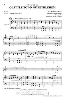 Joseph M. Martin: Let There Be Christmas: SATB