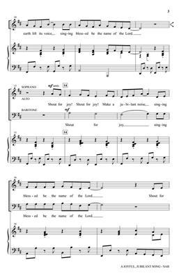 David Angerman: A Joyful, Jubilant Song: SAB