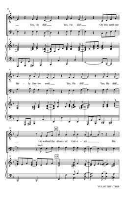 Lloyd Larson: Yes, He Did!: Men's Choir