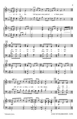 Brad Nix: A Day of Celebration: SATB