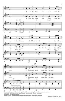 Greg Gilpin: The Frim Fram Sauce: Women's Choir