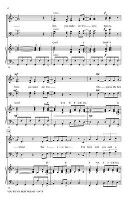 Paul Langford: You're My Best Friend: Mixed Choir