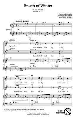 David Waggoner: Breath of Winter: Women's Choir