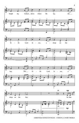 Christmas Songs of Peace: Arr. (Joseph M. Martin): Unison or 2-Part Choir