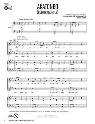 Greg Gilpin: Partner Songs for the Developing Choir: Mixed Choir