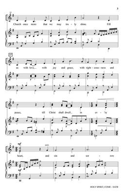 Henry H. Tweedy: Holy Spirit, Come: Mixed Choir