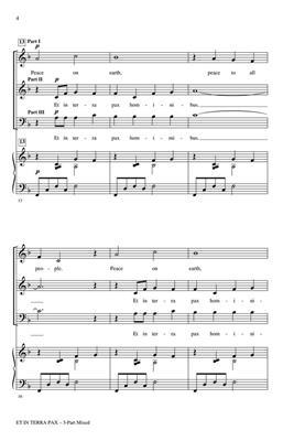 Greg Gilpin: Et in Terra Pax: Mixed Choir