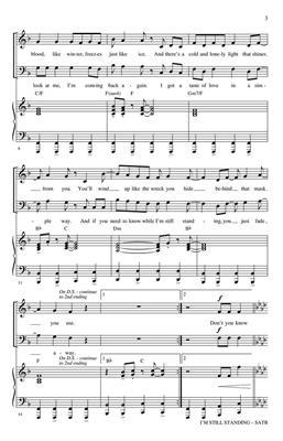 Elton John: I'm Still Standing: Mixed Choir