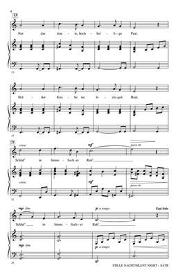 Franz Gruber: Stille Nacht/Silent Night: Mixed Choir