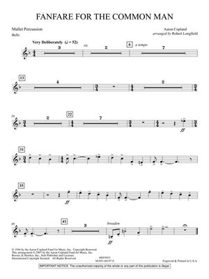 Aaron Copland: Fanfare For The Common Man (Arr. Robert Longfield): Concert Band