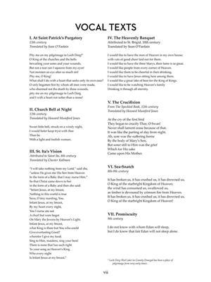Samuel Barber: Hermit Songs: High Voice