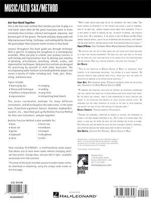 Berklee Practice Method: Alto and Baritone Sax