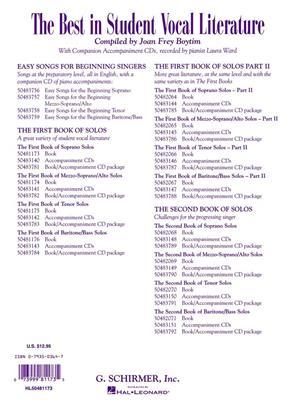The First Book of Soprano Solos: Soprano
