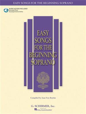 Easy Songs for the Beginning Soprano: Vocal
