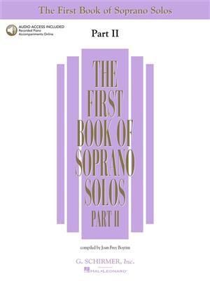 The First Book of Soprano Solos - Part II: Soprano