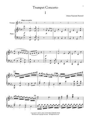 Johann Nepomuk Hummel: Johan Nepomuk Hummel - Trumpet Concerto: Trumpet