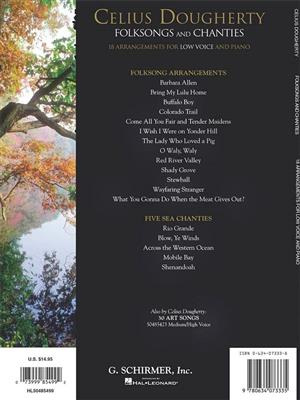Celius Dougherty: Celius Dougherty - Folksongs and Chanties: Low Voice