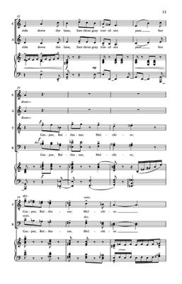 Kirke Mechem: Two Christmas Ballads: SATB