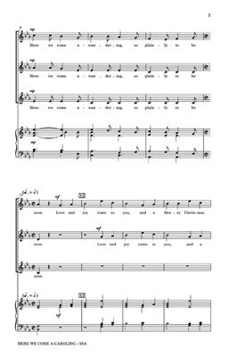 Traditional: Here We Come A-Caroling: Women's Choir