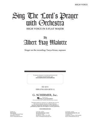Albert Hay Malotte: The Lord's Prayer (2-Part): High Voice