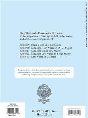 Albert Hay Malotte: The Lord's Prayer (2-Part): Vocal