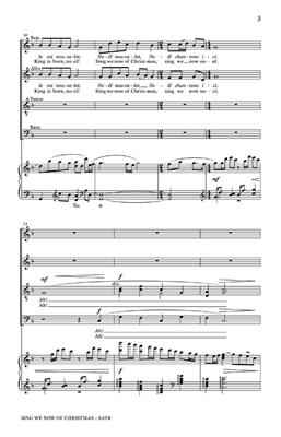 Sing We Now Of Christmas: Arr. (Cary Ratcliff): SATB