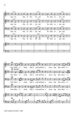 Cary Ratcliff: Past Three O'Clock: Men's Choir