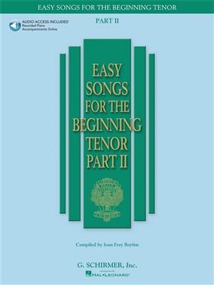 Easy Songs for the Beginning: Tenor