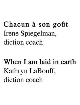 Diction Coach - G. Schirmer Opera Anthology: Mezzo-Soprano