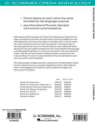 Diction Coach - G. Schirmer Opera Anthology: Tenor