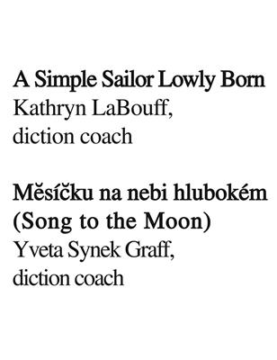 Diction Coach - G. Schirmer Opera Anthology: Soprano