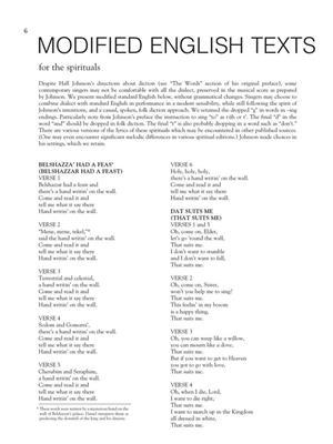30 Spirituals: Arr. (Hall Johnson): Low Voice