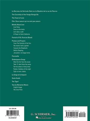 Virgil Thomson: Virgil Thomson - Collected Songs (25 Songs): Vocal