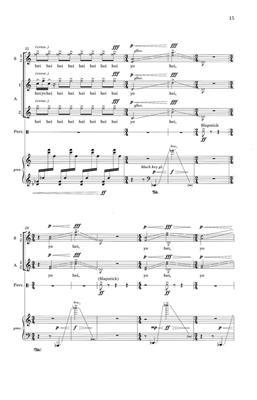 Bright Sheng: Boatmen's Song: Arr. (Francisco N·±ez): SSAA