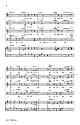 Richard Rice: Salve Regina: SATB