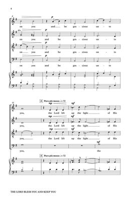 Martha Sullivan: The Lord Bless You and Keep You: SATB