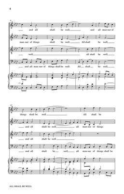 Craig Urquhart: All Shall Be Well: SATB